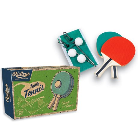 Ridley's House of Novelties Ridley's Classic Tabletop Table Tennis Set