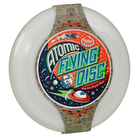 Ridley's House of Novelties Ridley's Glow-in-the-Dark Flying Disc