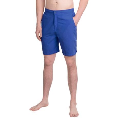 Peter Millar Summer Solid Swim Trunks (For Men)