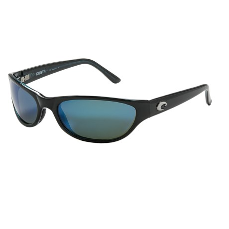 Costa Triple Tail Sunglasses - Polarized, Mirrored 580G Glass Lenses