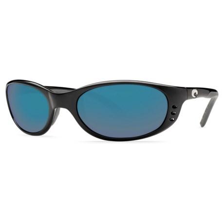 Costa Stringer Sunglasses - Polarized, Mirrored 580G Glass Lenses
