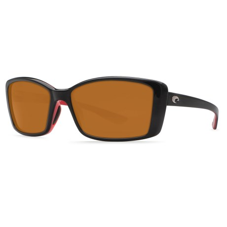 Costa Pluma Sunglasses - Polarized 580P Lenses (For Women)