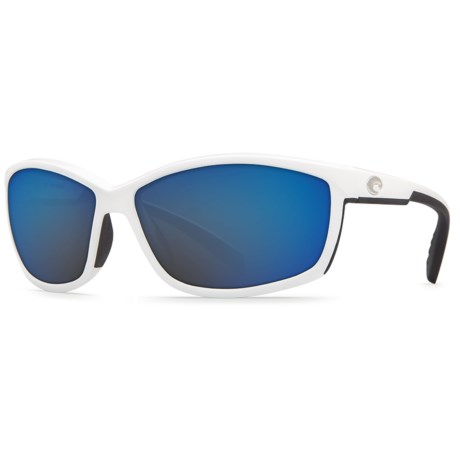 Costa Manta Sunglasses - Polarized, Mirrored 580G Glass Lenses