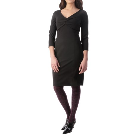 NYDJ Alana Stretch Matte Jersey Dress - 3/4 Sleeve (For Women)