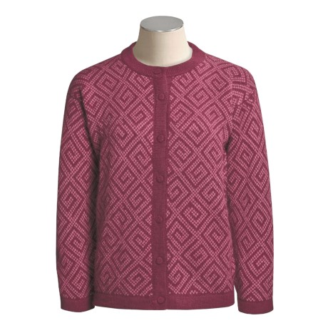 ML Kessler Alpaca Inca Cardigan Sweater (For Women)