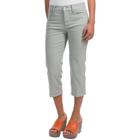 NYDJ Ariel Embellished Crop Jeans (For Women)