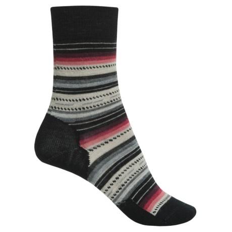 SmartWool Margarita Socks - Merino Wool, Crew (For Women)