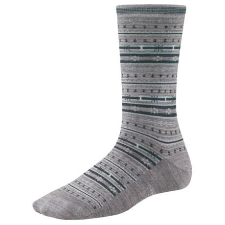 SmartWool Mini Fair Isle Socks - Merino Wool, Crew (For Women)