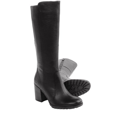 Timberland Swazey Tall Leather Boots - Waterproof (For Women)