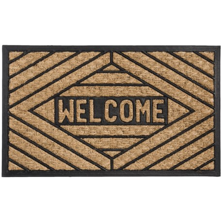 DII Home Essentials Everyday Rubber and Coir Door Mat - 18x30""