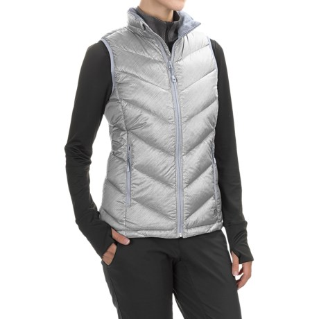 Mountain Hardwear Ration Printed Q.Shield® Down Vest - 650 Fill Power (For Women)