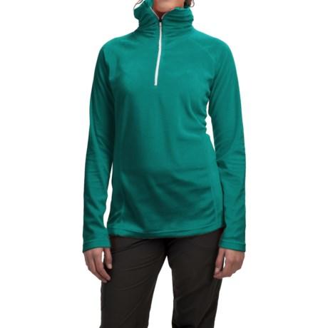 Mountain Hardwear MicroChill Lite Wick.Q® Fleece Shirt - Zip Neck (For Women)