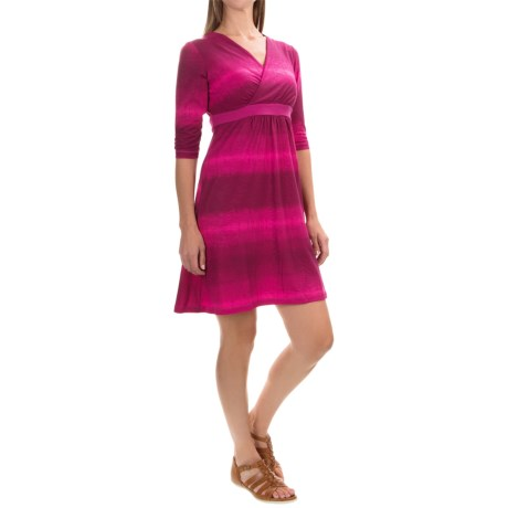 Mountain Hardwear Dryspun V-Neck Dress - Elbow Sleeve (For Women)