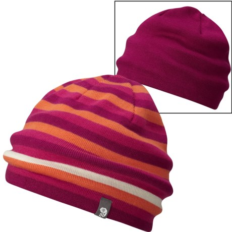 Mountain Hardwear Stripes Dome Beanie - Reversible (For Men and Women)