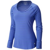 Mountain Hardware Butterlicious Crew Neck Shirt - Long Sleeve (For Women)