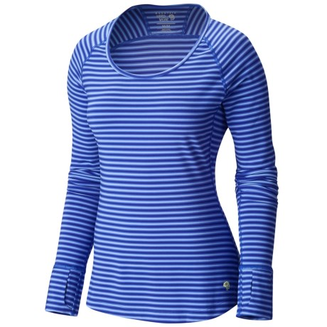 Mountain Hardwear Mountain Hardware Butterlicious Crew Neck Shirt - Long Sleeve (For Women)