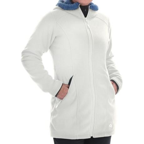 Mountain Hardwear Dual Fleece Hooded Parka - Fleece Lined (For Women)