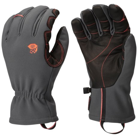 Mountain Hardwear Torsion Thermal.Q Elite Gloves - Insulated (For Men)