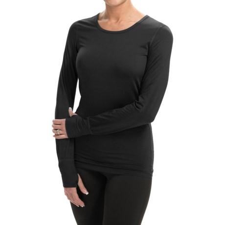 Terramar Body Sensor Cloud Nine Base Layer Top - UPF 25+, Long Sleeve (For Women)