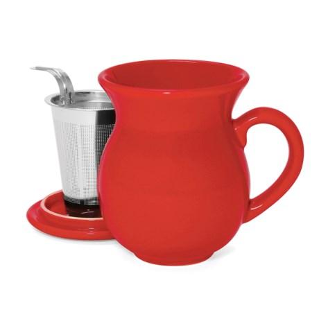 Chantal 15 fl.oz. Tea Mug - Stainless Steel Infuser