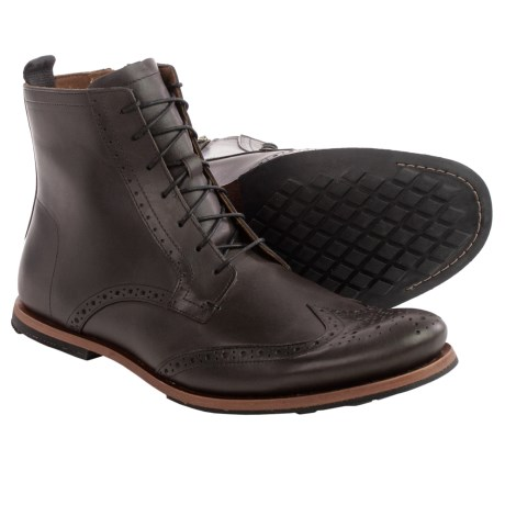 Timberland Wodehouse Wingtip Boots - Leather (For Men)