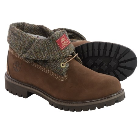 Timberland Icon Roll-Top Nubuck Boots (For Men)