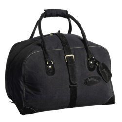 Australian Bag Outfitters Brumby Duffel Bag - Canvas, Leather Trim
