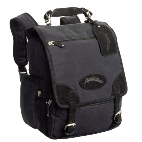 Australian Bag Outfitters Digger Backpack with Leather Trim