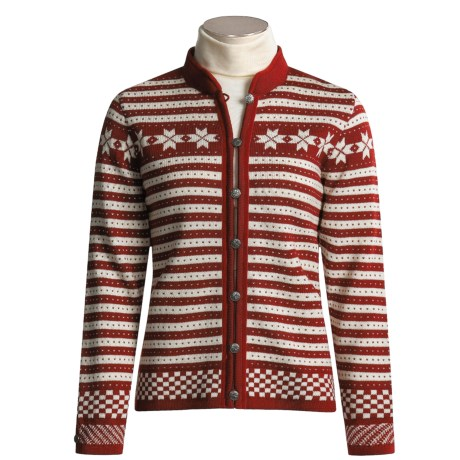 Dale of Norway Fana Cardigan Sweater - Wool (For Women)
