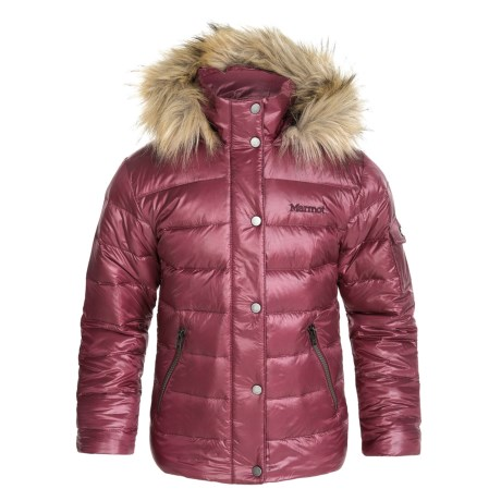 Marmot Hailey Down Jacket - 700 Fill Power (For Little and Big Girls)
