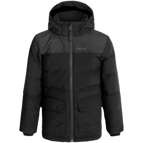 Marmot Rail Down Jacket - Waterproof, 700 Fill Power (For Little and Big Boys)