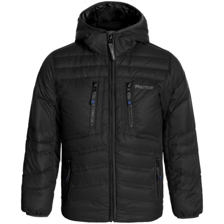 Marmot Hangtime Hooded Down Jacket - 700 Fill Power (For Little and Big Boys)
