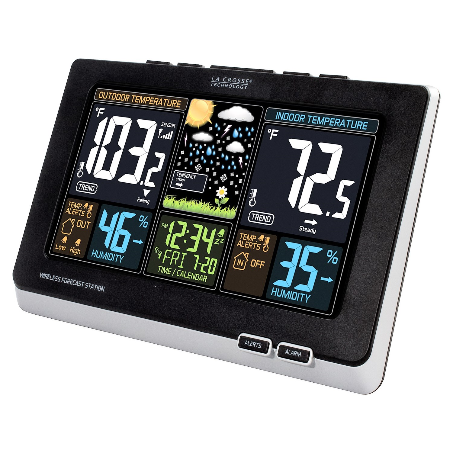 la crosse technology wireless color weather forecast station 110cp save 39. Black Bedroom Furniture Sets. Home Design Ideas