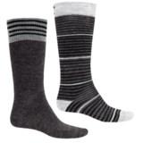 Lorpen Merino Wool Ski Socks - 2-Pack, Over the Calf (For Men and Women)