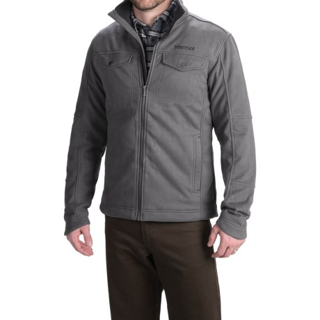 Marmot Hawkins Fleece Jacket - Full Zip (For Men)