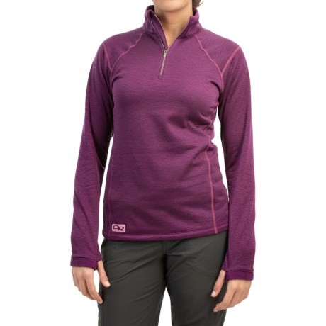 Outdoor Research Vanquish Fleece Shirt - Zip Neck, Long Sleeve (For Women)