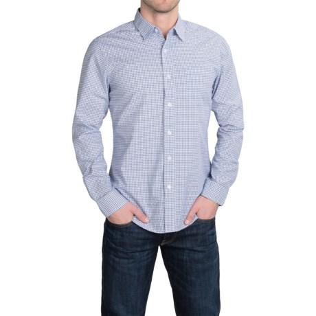 Slate & Stone Poplin Check Shirt - Long Sleeve