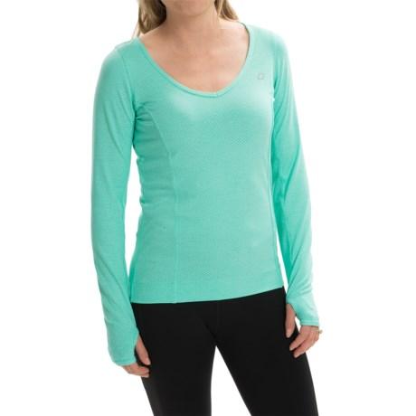 Lorna Jane Emi Excel Mesh Shirt - Long Sleeve (For Women)