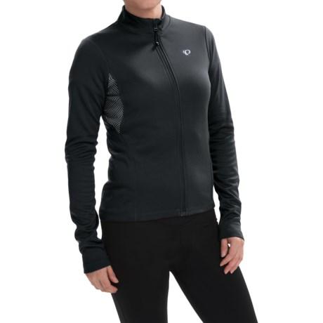 Pearl Izumi SELECT Sugar Print Thermal Cycling Jersey - Full Zip, Long Sleeve (For Women)