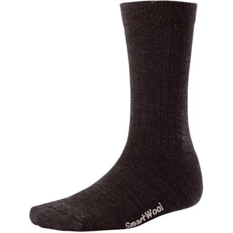 SmartWool Heathered Rib Socks - Merino Wool  (For Men and Women)