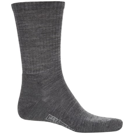 SmartWool Heathered Rib Socks - Merino Wool, Crew (For Men)