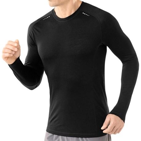 SmartWool PhD Ultralight Run T-Shirt - Merino Wool, Long Sleeve (For Men)