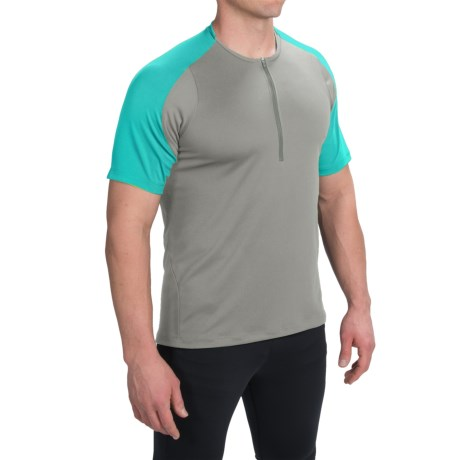 Pearl Izumi Divide Cycling Jersey - Zip Neck, Short Sleeve (For Men)