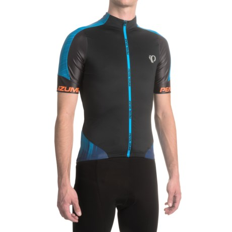 Pearl Izumi P.R.O. Leader Cycling Jersey - Full Zip, Short Sleeve (For Men)