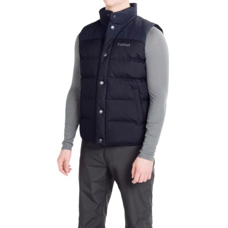 Marmot Fordham Down Vest - 700 Fill Power (For Men)