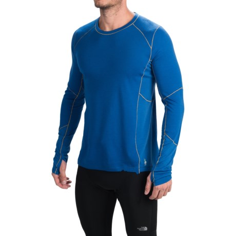 SmartWool PhD Light Shirt - Merino Wool, Crew Neck, Long Sleeve (For Men)