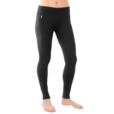 SmartWool PhD Tights - Merino Wool, Mid Rise (For Women)