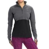 Brooks Drift Zip Neck Shirt - Long Sleeve (For Women)