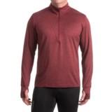 Brooks Dash Shirt - Zip Neck, Long Sleeve (For Men)