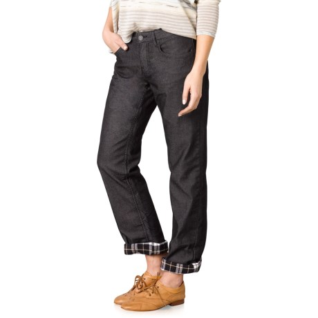 prAna Lined Boyfriend Jeans - Organic Cotton, Relaxed Fit (For Women)